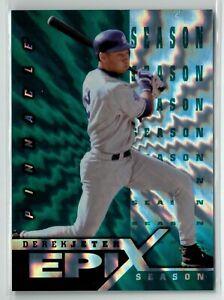 1998 Pinnacle Epix Season Emerald #E8 Derek Jeter NY Yankees!