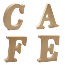 """4Pieces Wooden Combination Alphabet Crafts """"CAFE"""" Letters Nursery Wall Decor"""