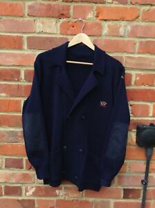 VINTAGE PAUL & SHARK DOUBLE BREASTED CARDIGAN - SIZE XL MENS - MADE IN ITALY