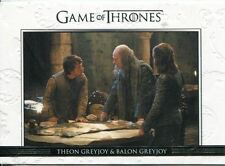 Game Of Thrones Season 3 Relationships Chase Card  DL10 Theon Greyjoy and