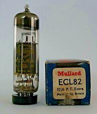 Mullard ECL82 Yellow Print Valve/Tube New Old Stock - 1 Piece (V12)