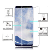 For Samsung Galaxy S9 Plus Tempered Glass Screen Protector 3D 9H Clear Full Film