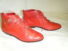 CONNIE Granny Grunge Fashion Vintage Women's  Boots Size 6.5 B-On Sale!