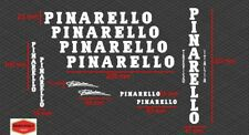 Adesivi per restauro Bici Pinarello Vintage 11 pezzi vinile prespaziato