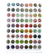 36 x pairs of earring studs on display card, Earrings * UK SELLER* job lot