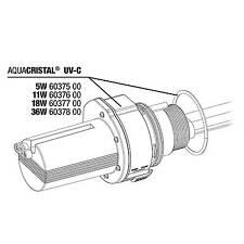 JBL ProCristal UV-C Elektroeinheit 5 W UVC Ersatzteil Wasserklärer Ersatz
