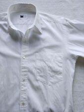 Issey Miyake plain white shirt small