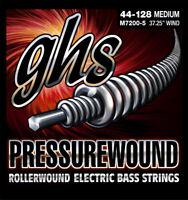 GHS M7200-5 Pressurewound Bass Strings - Medium - 5-String Set