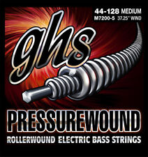 GHS M7200-5 Pressurewound Bass Strings - Medium - 5-String Set