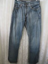 FLYPAPER JEANS Bootcut 30 x 31 Blue Denim Distressed