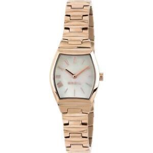 Orologio Donna BREIL BARRELL TW1655 Bracciale Acciaio Rosè Bianco Classico