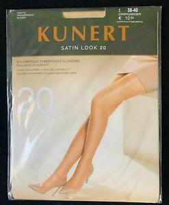 Kunert Satin Look 20 Tights Strumpfhose Transparent Glossy Size 38-40