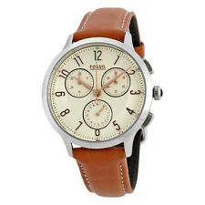 Fossil Women's Abilene CH3014 Brown Leather Quartz Fashion Watch