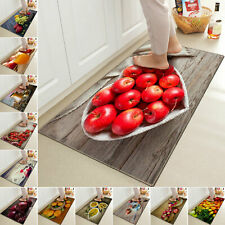 Non-Slip Kitchen 3D Printed Rug Anti Fatigue Floor Mat Large Small Welcome Mat