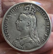 Victoria Silver Crown 1891