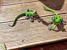Gecko `s -Dekofiguren Haus - Garten -Balkon - Terrasse -Fensterbank