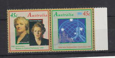 AUSTRALIA MNH 1993 STAMP SET IPU CONFERENCE + WOMEN IN PARLIAMENT SG 1421-1422