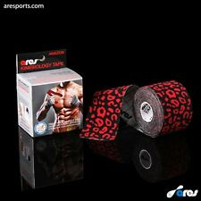 Genuine Ares Amazon Tape LEOPARD Kinesiology Elastic Sports Tape - Support KT