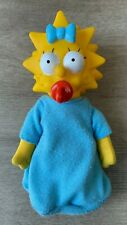 THE SIMPSONS: Vintage Maggie Simpson plush – 1990 – RARE!