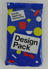 Cards Against Humanity Game Design Pack Expansion Set 30 Cards New Sealed