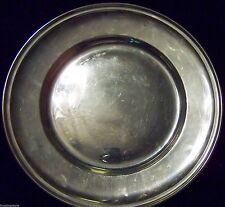 GORHAM DECO ERA SOLID STERLING .925 ROUND SERVING TRAY - SM.PLATE - NO MONOGRAMS