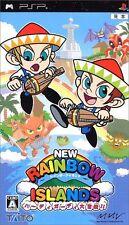 Used PSP NEW Rainbow Island hurdy-gurdy large adventure !! Import Japan