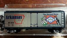 Micro Trains MTL 21383 AR ARKANSAS STATE 40' Boxcar #1836