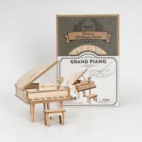 Robotime DIY Holzklavier 3D Puzzle Handgemachtes Geschenk für Mädchen Kinder