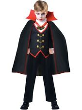 Childs Dracula Fancy Dress Costume Kit Victorian Vampire Halloween Kids Boys