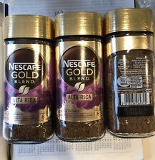 3 x 100g NESCAFE GOLD Blend ALTA RICA Instant Coffee Arabica.