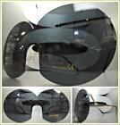 New OVERSIZED VINTAGE RETRO Style SUN GLASSES Gold Fashion Frame Round Dark Lens