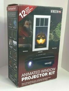 Window FX Animated Window Projector Kit. Great for Halloween & Christmas