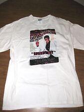 ELVIS PRESLEY med T shirt Speedway KING retro tee Fan Club Event 2006 rock OG