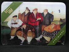 "EVERGREEN 18"" X 12"" CUTTING EDGE BOARD - SIX VINTAGE GOLFERS - JENNIFER GARANT"