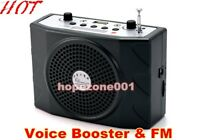 5W Portable Waistband Voice Booster PA Amplifier With Microphone For Teacher AU