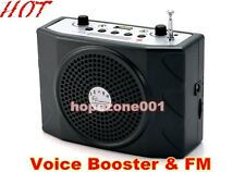 Portable Teacher Voice Booster 25W PA Amplifier Loudspeaker FM light weight