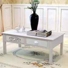 French Coffee Table Couch Table With 2 Drawers Shabby Chic Living Room Furniture