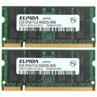 4GB KIT 2x 2GB Pour HP Compaq Pavilion dv6-2190sl dv6500 CTO dv6500t Memory FR