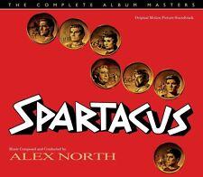 Spartacus - Complete Album Masters - Limited 2000 - Alex North