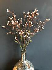 Mazzo di ecopelle marrone Gypsophila. realistico Gipsofila artificiali, fiori di cera