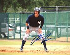 AUSTIN AUNE NEW YORK YANKEES SIGNED 8X10 PHOTO W/COA