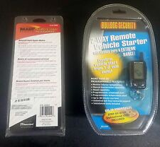 Bulldog Security 2-way Remote Starter Deluxe 500 And Ready Remote Bypass 29402