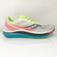 Saucony Mens Endorphin Pro S20598 10 Gray Running Shoes Lace Up Low Top  Size 13