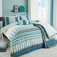 TRIBAL Ethnic Printed 200 Thread Count Duvet Cover/Quilt Cover Set Bed Linen