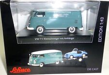 VW T1c FURGONE Kleinschnittger M RIMORCHIO AUTO SCHUCO 450374100 1:43 NUOVO µ