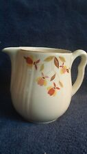 Autumn Leaf Hall Jewel Tea Pitcher Water Juice Tea Ceramic Vintage 6 inches