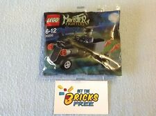 Lego Monster Fighters Polybag 30200 Zombie Chauffeur Coffin Car New/Sealed/H2F