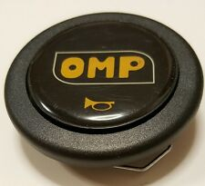 New OMP Steering Wheel Horn Button Black Sparco MOMO NARDI