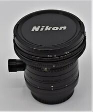 Nikon Lens PC NIKKOR 28mm f3.5 control shift