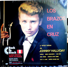 JOHNNY-HALLYDAY -Reedition-Back-to-black-   NEUF SOUS BLISTER   33T